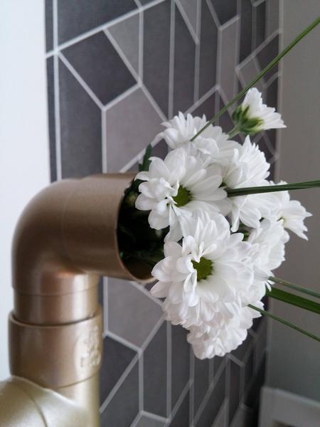 Fleurs tuyau PVC