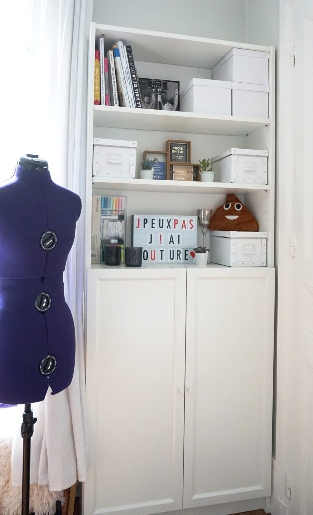 mon étagère de couture