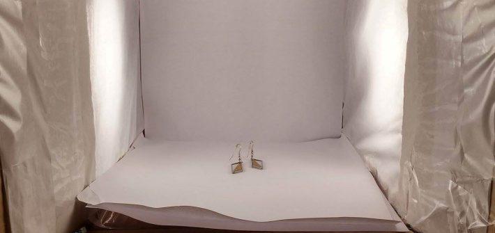 Mini studio photo en carton