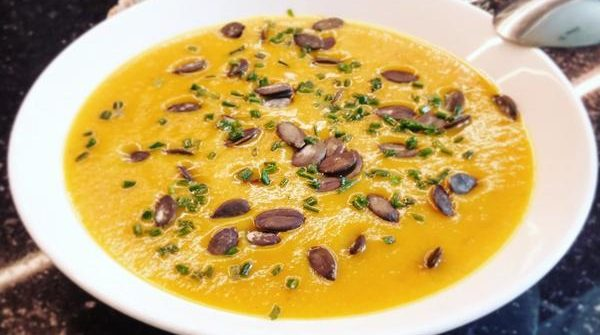 Soupe butternut panais carottes