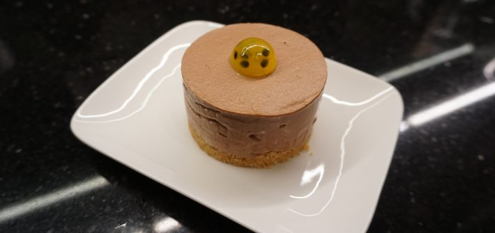entremet passion chocolat