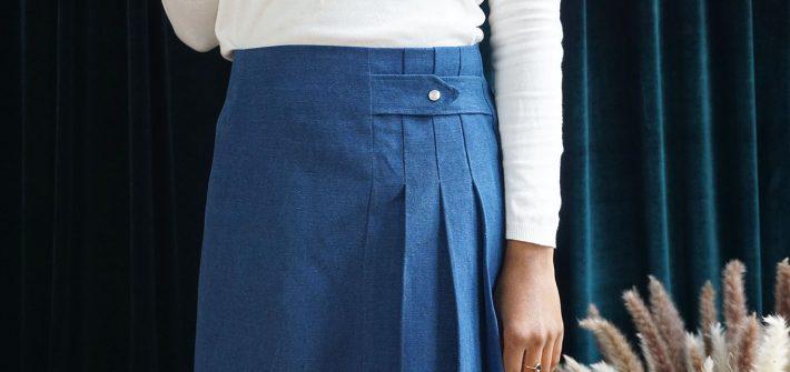 La jupe plissée Stacey
